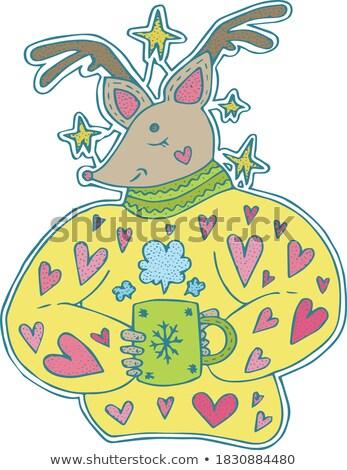 Rudolph Shades Stock photo © blamb