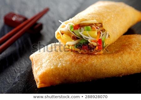 fresh cooked rolls close-up  Stock photo © OleksandrO