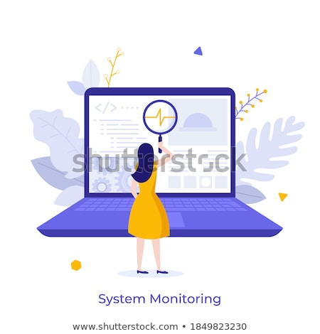 Computador programação software projeto aplicação Foto stock © stuartmiles
