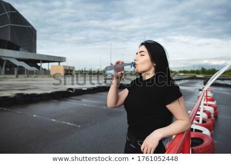 girl in sportswear near the horizontal bars stock photo © ruslanomega