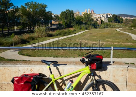 Ribarroja del turia village bridge Valencia Spain Stock photo © lunamarina
