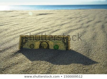 Dólar quente deserto areia cem Foto stock © stevanovicigor