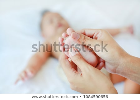Baby massage stock photo © sapegina