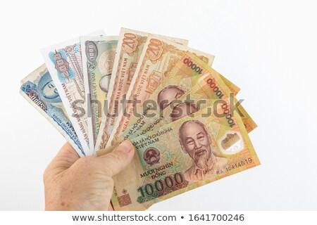 Foto stock: Pormenor · Vietnã · dinheiro · Ásia · financeiro · economia