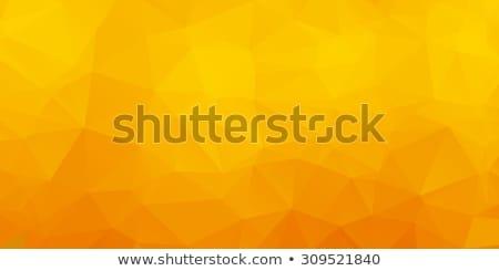 Yellow abstract kaleidoscope background Stock photo © homydesign
