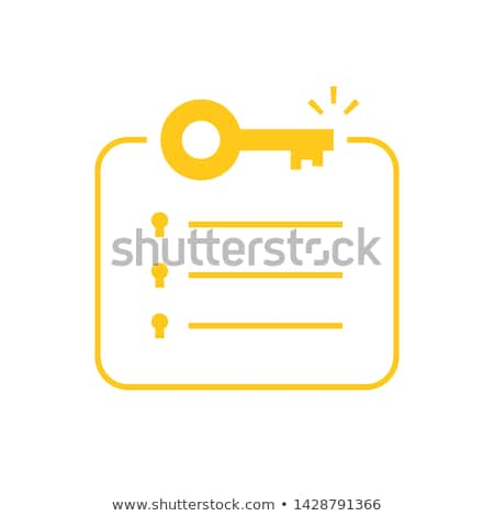 key with message stock photo © fuzzbones0
