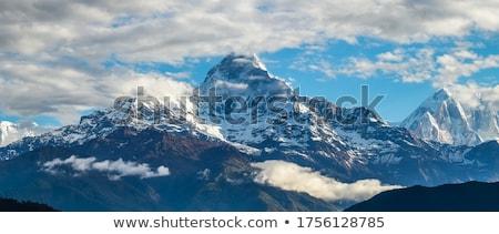 morning view to Annapurna  Stock photo © meinzahn