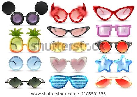 óculos projeto eps música moda fundo Foto stock © sdCrea