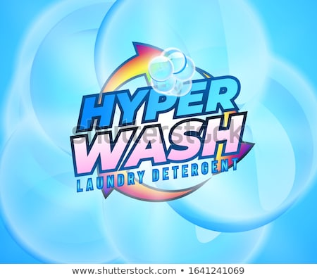 laundry detergent product packaging concept vector design Stock photo © SArts
