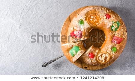 伝統的な スペイン語 ケーキ 先頭 表示 オレンジ ストックフォト © neirfy
