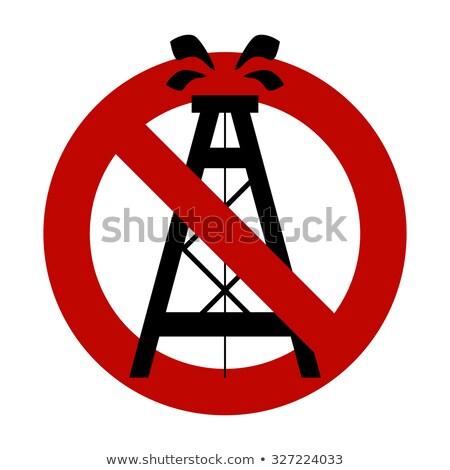 знак · красный · предупреждение · символ · изолированный - Сток-фото © popaukropa