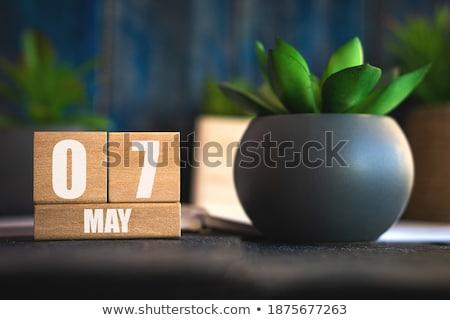 cubes 7th may stock photo © oakozhan