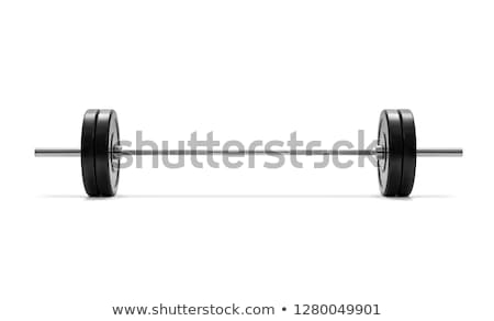 Barbell Object Stock photo © Lightsource