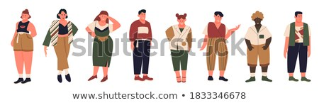 Obese Stock Vectors Illustrations And Cliparts