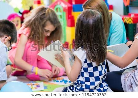 группа дети красочный образовательный деятельность Сток-фото © Kzenon