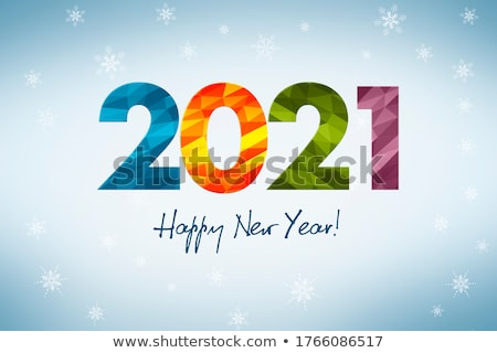 Bright Invite Card Happy New Year Banner Stock photo © pikepicture