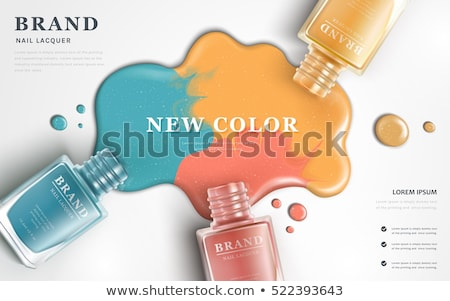 Colour for paint nail Stock photo © jomphong