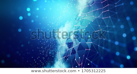 Artificial Intelligence Line Pattern Concept Stock photo © Anna_leni