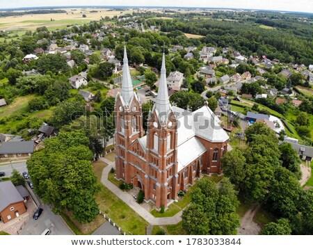 Igreja Lituânia um primeiro igrejas cidade velha Foto stock © borisb17