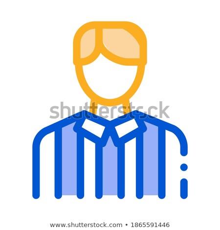 football · icône · illustration · vecteur · signe - photo stock © pikepicture