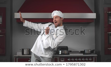 Fun cook Stock photo © marinamik