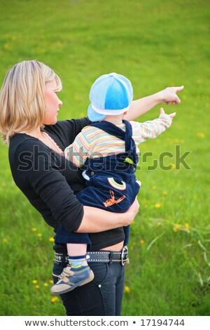 матери ребенка оружия что-то стороны Сток-фото © Paha_L