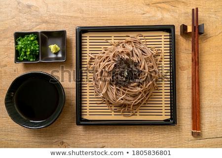 Soba noodles Stock photo © sahua