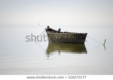 big wood boat stock photo © elenarts