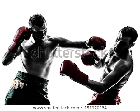 Two men boxing Stock photo © photography33