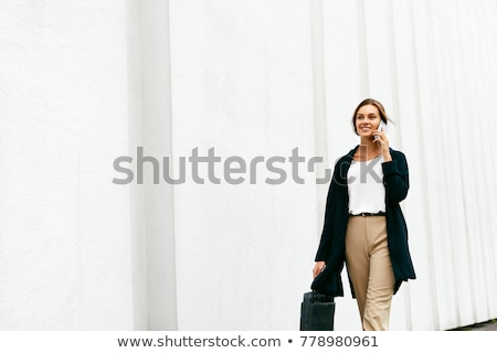 portrait of a woman in working clothes Stock photo © photography33
