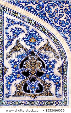 traditioneel · keramische · tegels · Iran - stockfoto © travelphotography