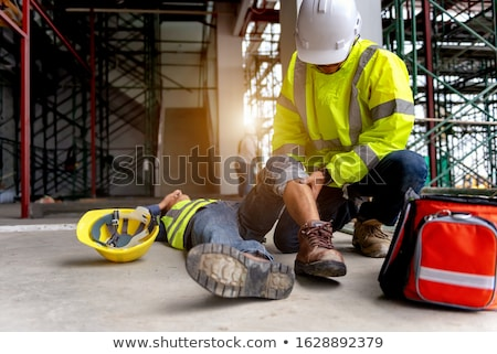 Injured construction worker Stock photo © photography33