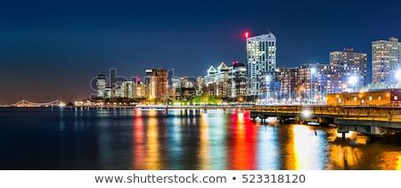 panoramic  Jersey City skyline Stock photo © prill