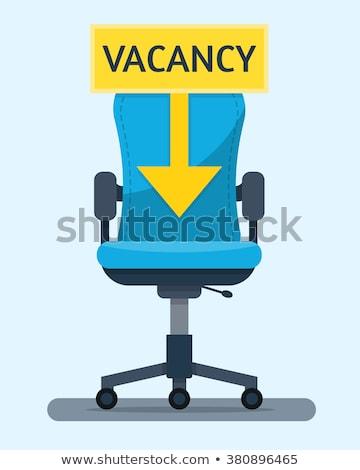 Stock fotó: Főnök · ülés · szék · irodai · szék · fekete · bőr