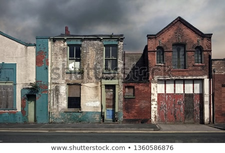 Derelict building Stock photo © trgowanlock