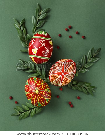 Decorated Eggs Stock photo © Lightsource