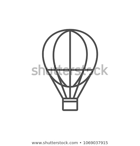 Icon air ballon Stock photo © zzve