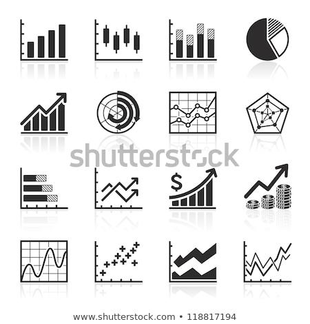 Oszlopdiagram boglya dollár üzlet grafikon diagram Stock fotó © 4designersart