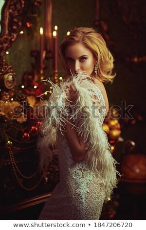 Seductive luxury woman Stock photo © Anna_Om