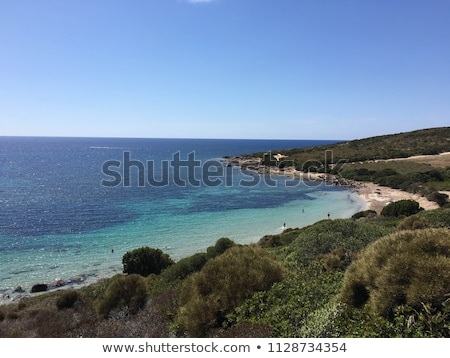 San Pietro island - lighthouse Stock photo © Antonio-S