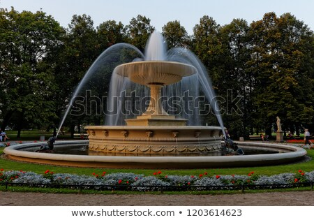 Saxon Garden in Warsaw Stock photo © rognar