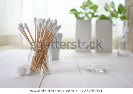 ear buds cotton swabs Stock photo © sirylok
