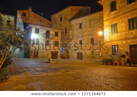 Evening in Tuscany Stock photo © w20er