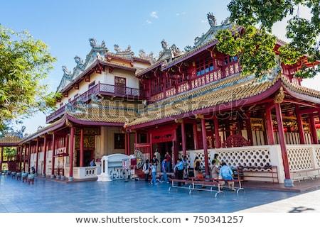 橋 バング 痛み 宮殿 バンコク タイ ストックフォト © meinzahn