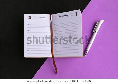 Studying Concept. Purple Vintage design. Stock photo © tashatuvango