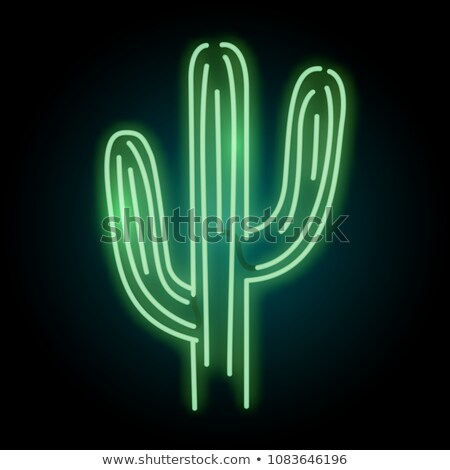 Cactus Sign Stock photo © Lightsource