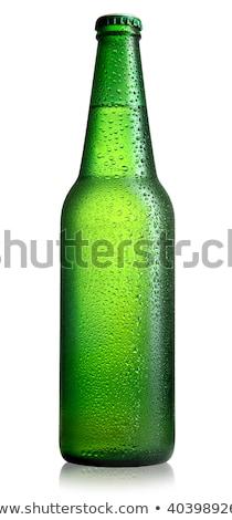 Zöld palackok Stock fotó © givaga
