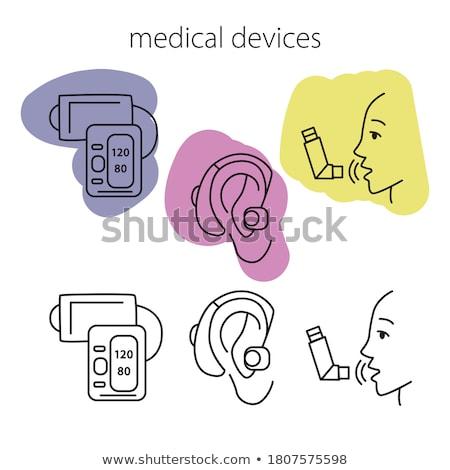 diagnóstico · sida · médico · imune · síndrome · turva - foto stock © tashatuvango