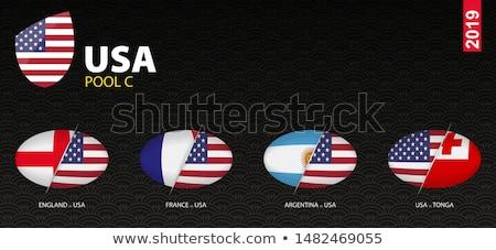 USA Argentína Egyesült Államok Amerika fél vidék Stock fotó © tony4urban