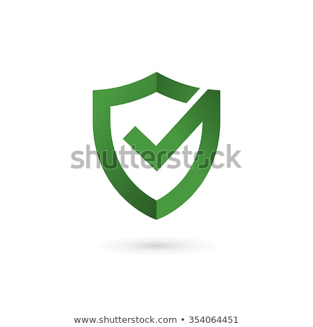 Checkmark Shield with Ribbon Stock photo © cteconsulting
